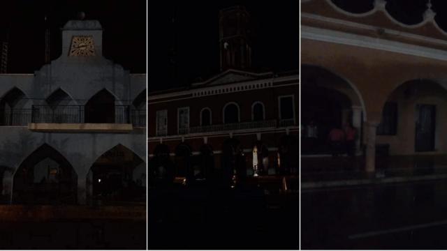 Apagón en toda la Península de Yucatán en protesta por tarifas eléctricas