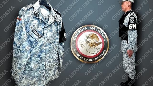 Presentan diseño del uniforma de la Guardia Nacional