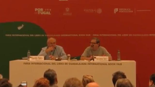 Paco Ignacio Taibo II, Metimos Doblada, FIL Guadalajara, Senado