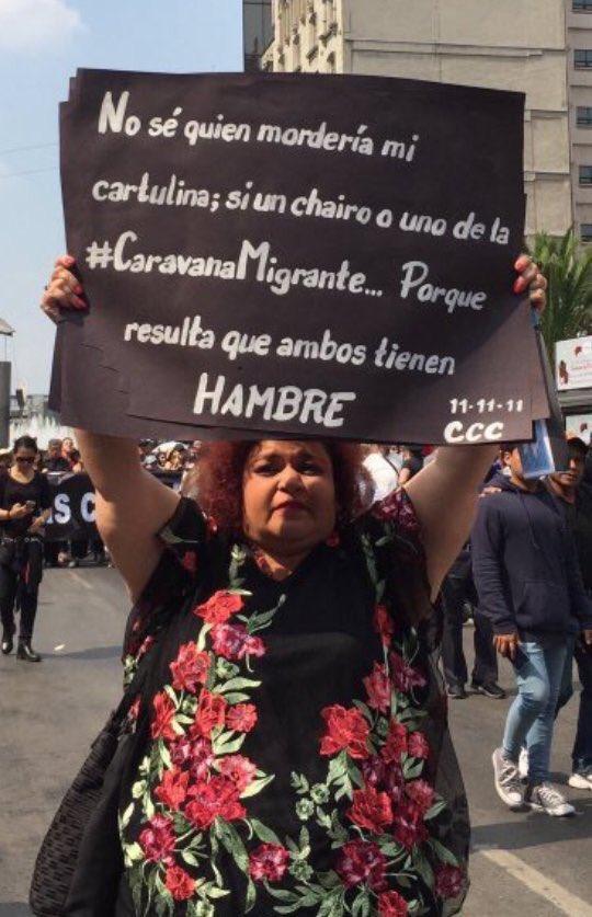 Pancartas xenófobas y clasistas en #MarchaFifi