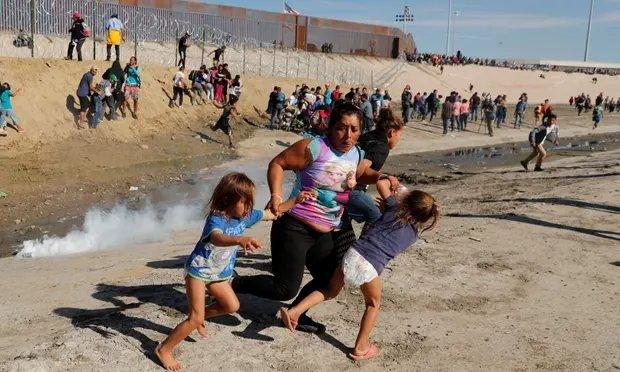 Protesta en San Ysidro se convierte en represión desde EEUU