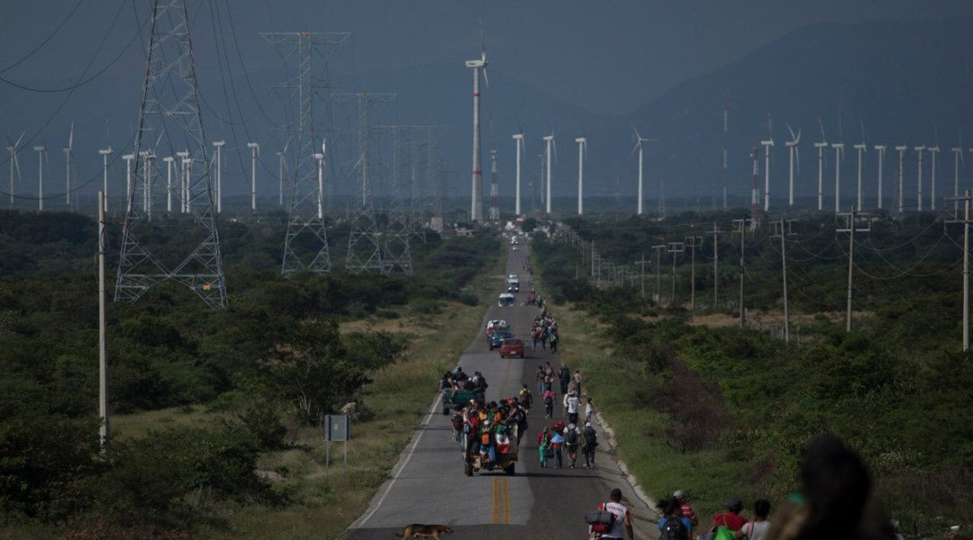 No es caravana, sino éxodo de migrantes centoamericanos