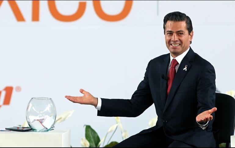 Peña Nieto no se irá al retiro sin nada