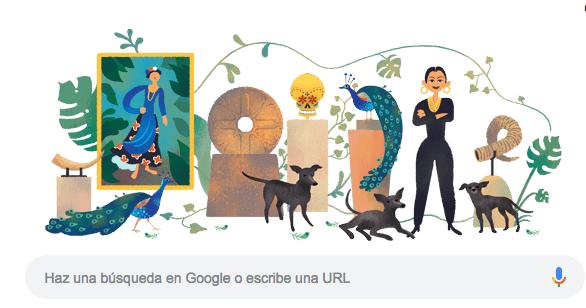 Quién es Dolores Olmedo y por qué tiene un Doodle