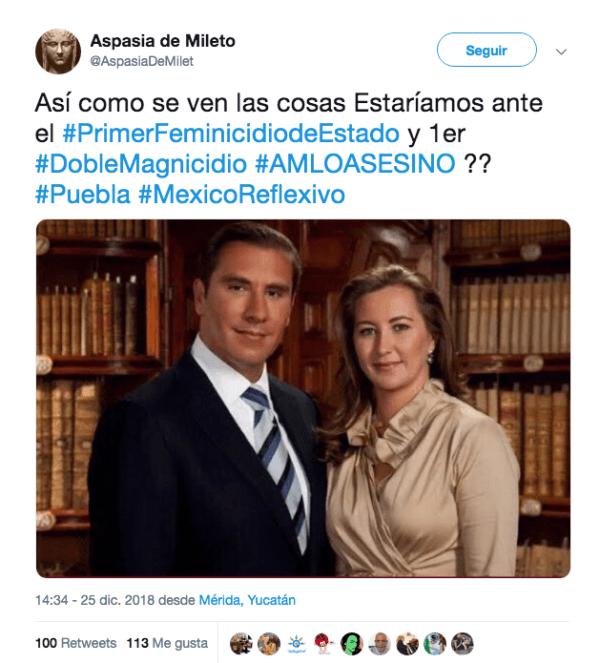 AMLO campaña Sucia Helicoptero Moreno Valle