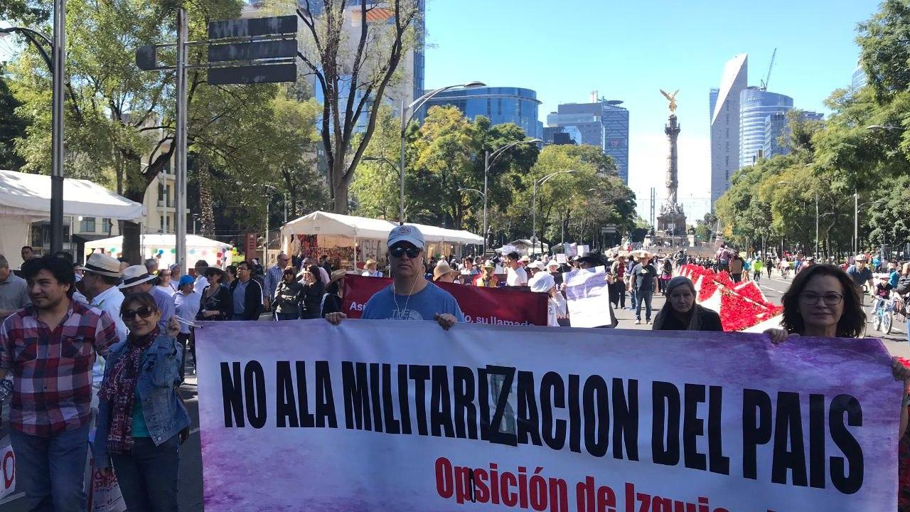 Así fue la segunda marcha fifí contra AMLO y las consultas