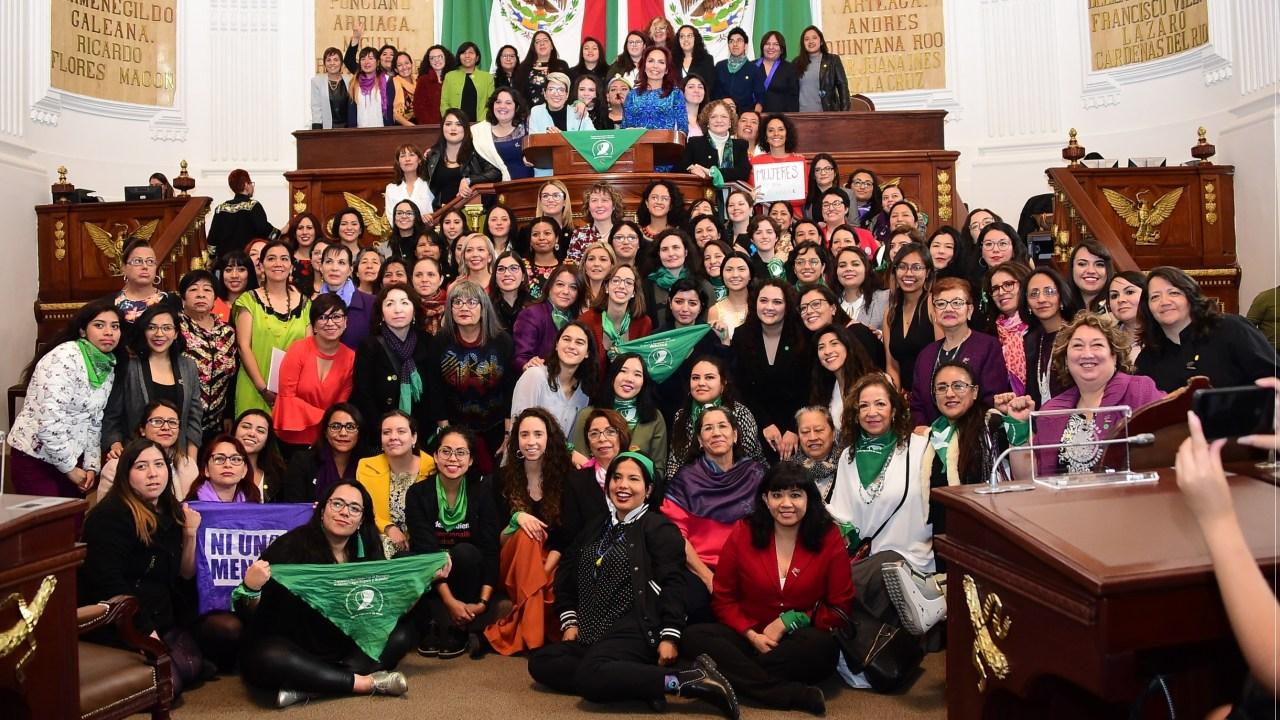 primer parlamento mujeres cdmx