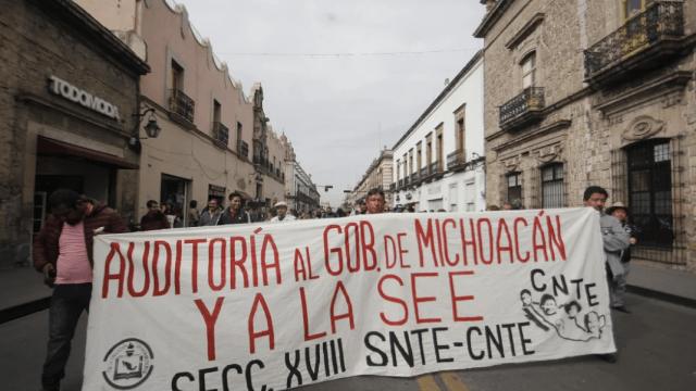 Las verdaderas demandas de la CNTE en Michoacán