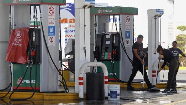Desabasto gasolina sergio negrete cárdenas entrevista