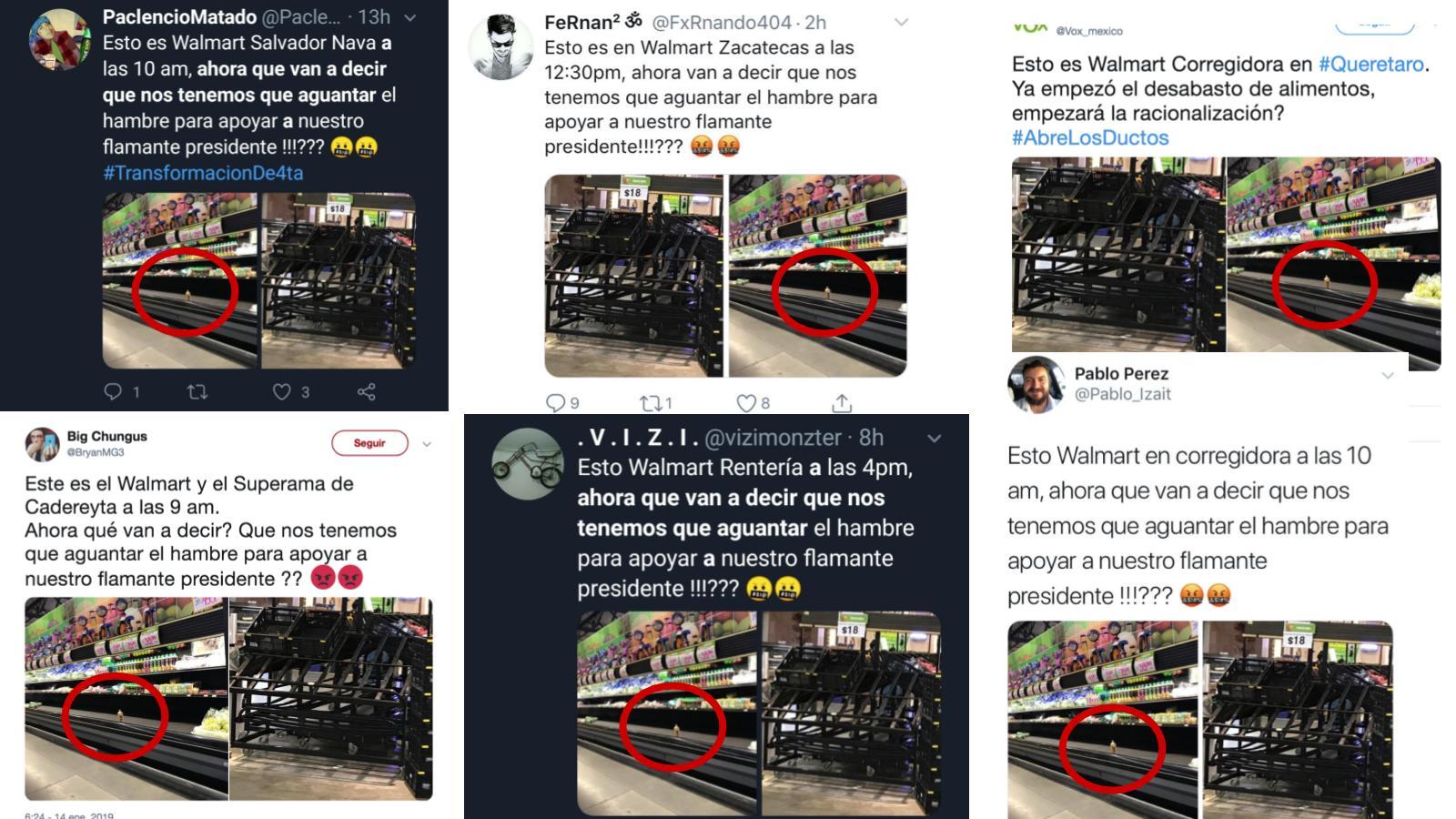 Walmart, Desabasto, Fake News, Twitter