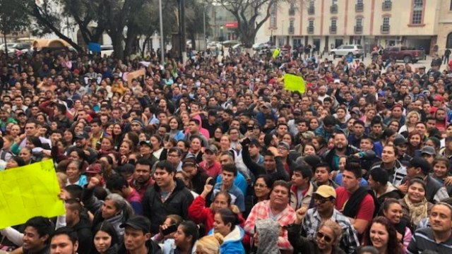 Protestas, Maquiladoras, Matamoros, Huelga