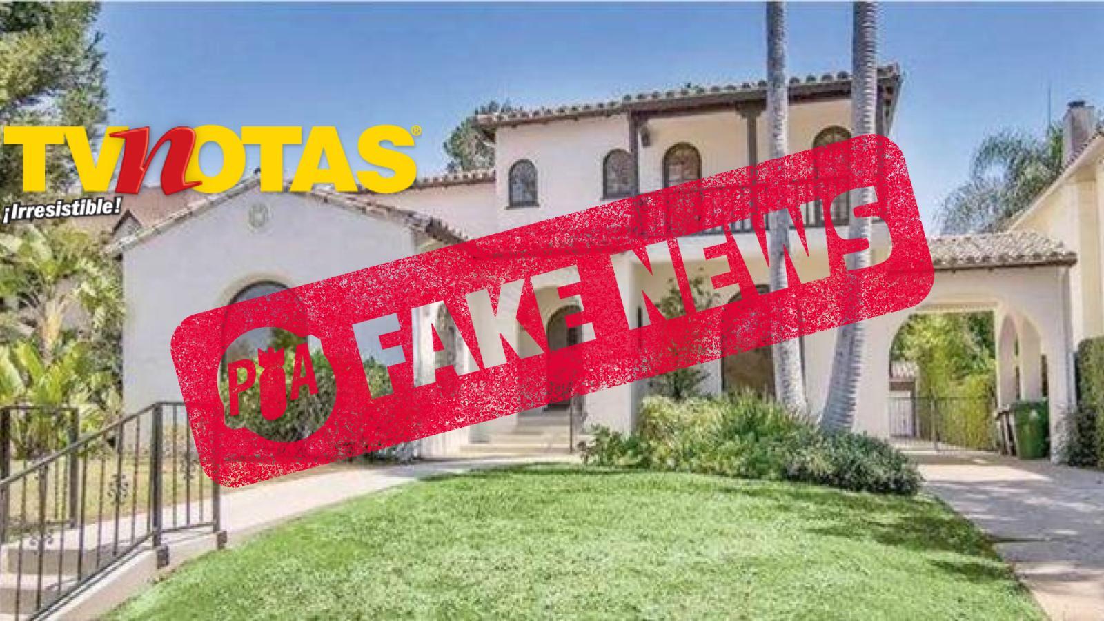 Falso que Angélica Rivera tenga Casa Blanca en LA