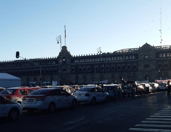 Manifestación, Taxistas, Uber