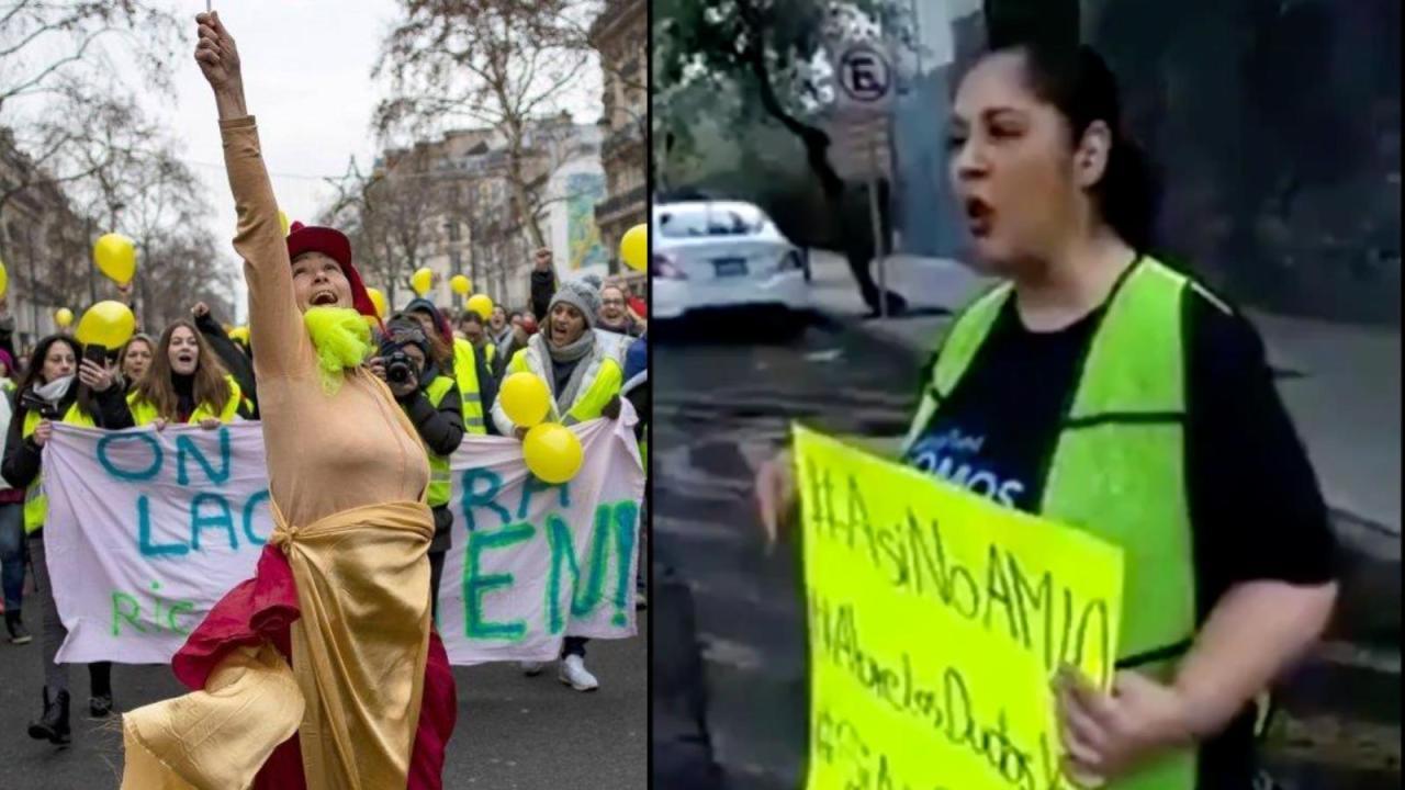 Chalecos amarillos se deslindan de versión mexicana