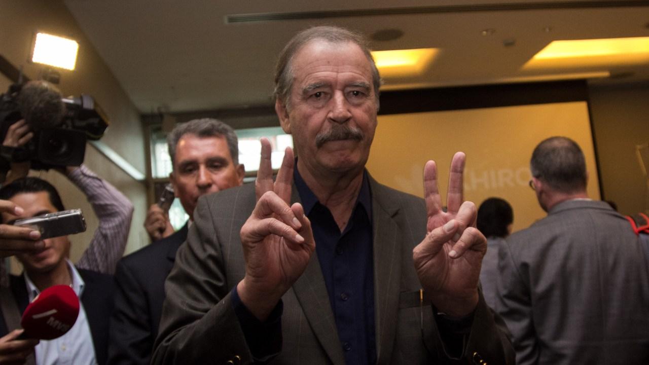 Vicente Fox recibió millones de EPN por cursos de liderazgo