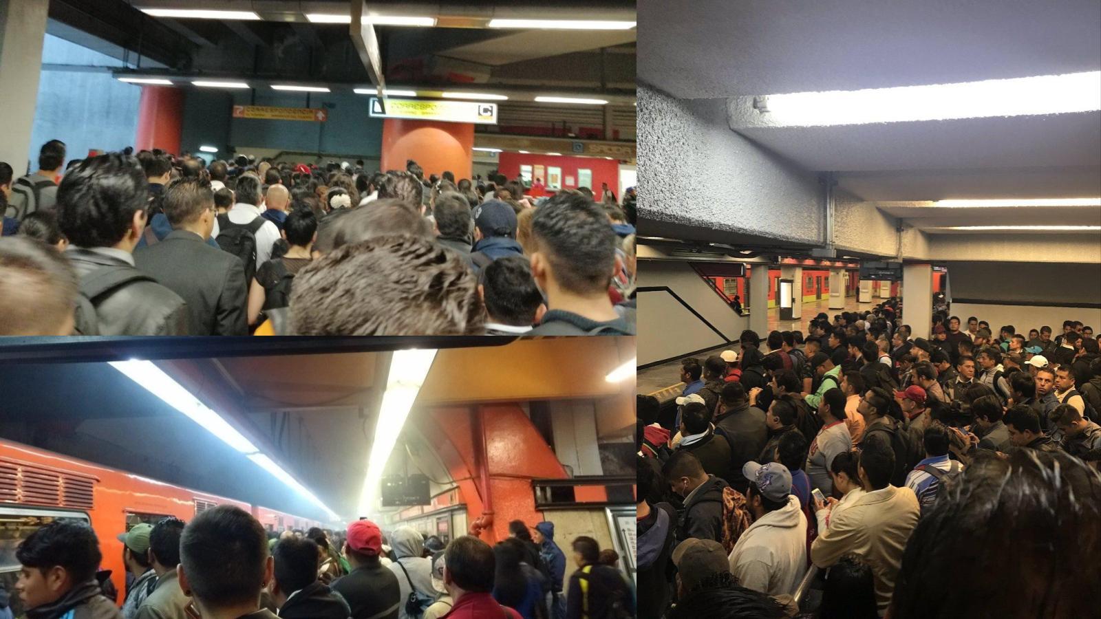 ¿Qué pasó en el metro esta mañana?