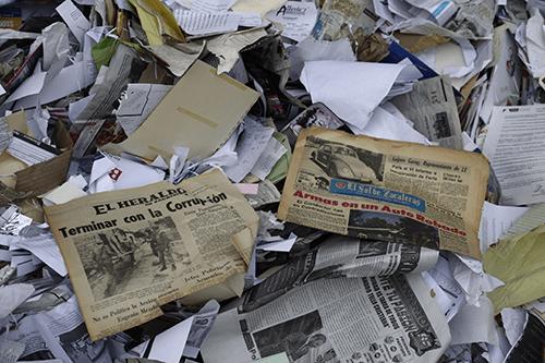 Universidad vendió archivo histórico por kilo a recicladora