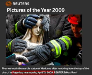 Fotografía original, publicada por Reuters en 2009