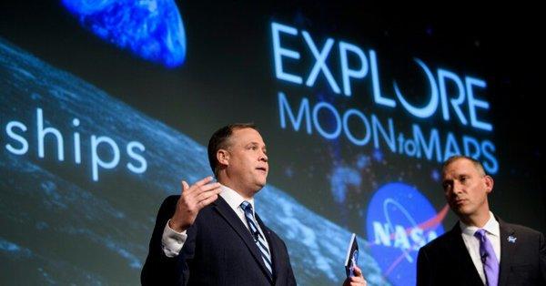 NASA, Marte, luna