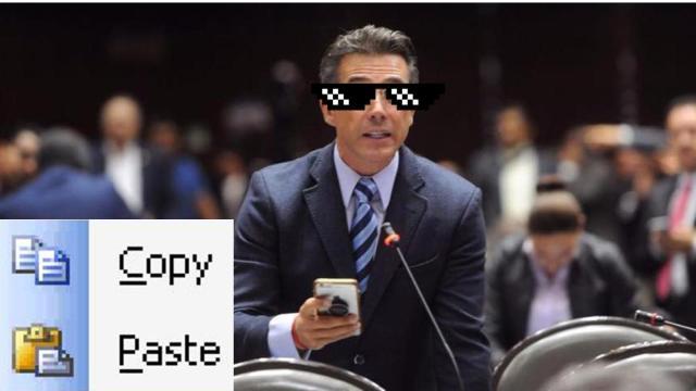 Sergio Mayer presenta iniciativa plagiada de página de tareas