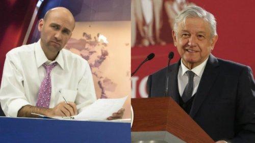 Pedro Ferriz Hijar critica zapatos de AMLO.