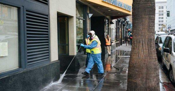 En San Francisco la gente usa las calles como baño