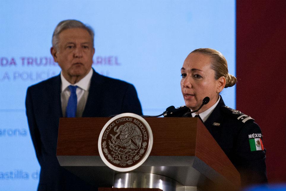 Ella es la doctora Trujillo, la policía con 12 doctorados que coordinará con GN