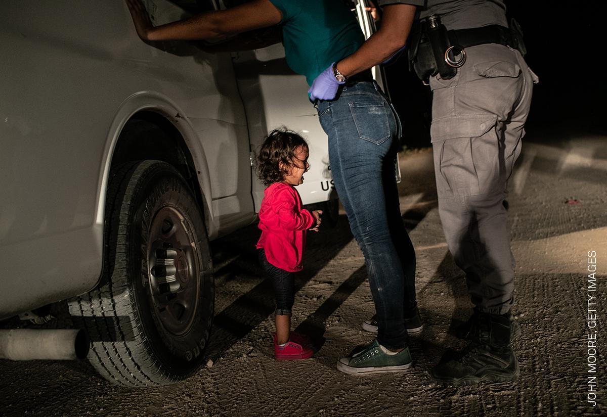 El retrato de una niña detenida en EEUU ganó el World Press Photo