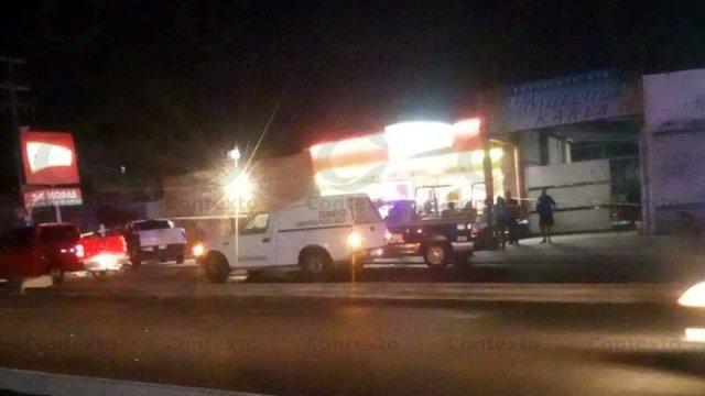 Durante un robo asesinaron al cajero, un niño de 15 años