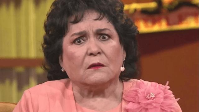 Carmen Salinas pide medicinas para pacientes de VHS