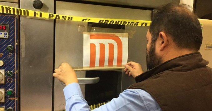Metro de CDMX cierra locales con hornos