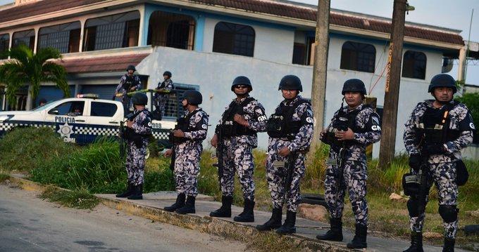 Guardia Nacional, desplegada en Minatitlán, Ver.