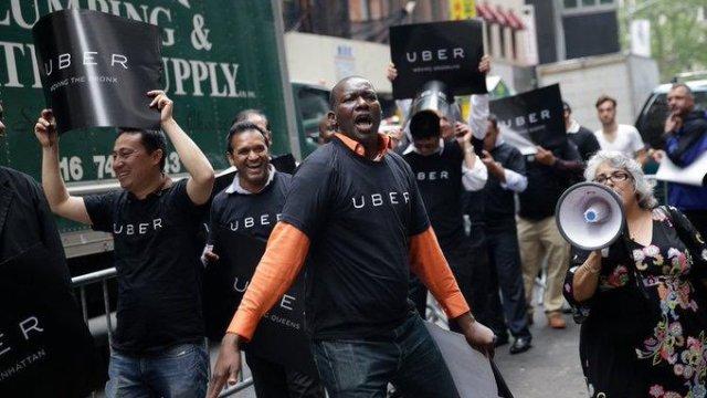 Uber enfrenta huelga internacional y pérdidas millonarias