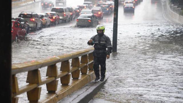 Aumento de lluvias en la CDMx