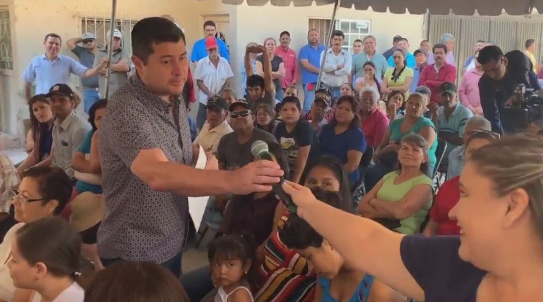 Alcalde de Ahome critica peso de mujer