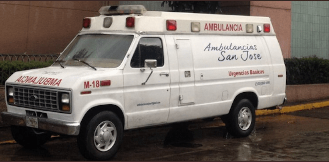 Así operan ambulancias patito en CDMX