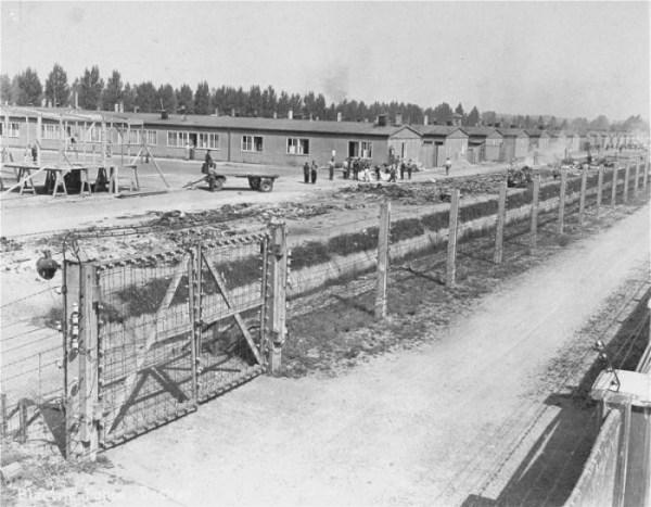 Campo de concentración de Dachau, Alemania, durante Segunda Guerra Mundial