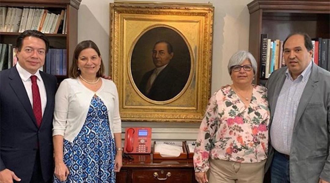 Guadalupe Loaeza critica a embajadora mexicana en Estados Unidos