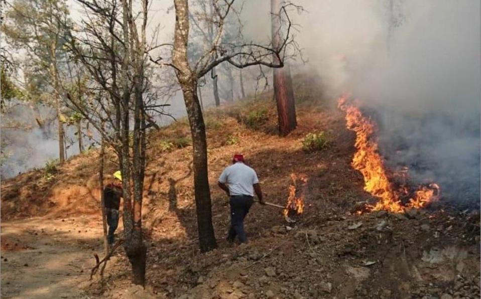 Cuántos incendios van en la CDMX