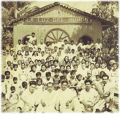 Iglesia de la Luz del Mundo en 1926 en Jalisco