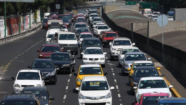 Autos con placas de Morelos no podrán circular en CDMX.
