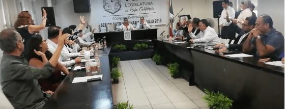 Congreso de Baja California aprueba extensión de mandato
