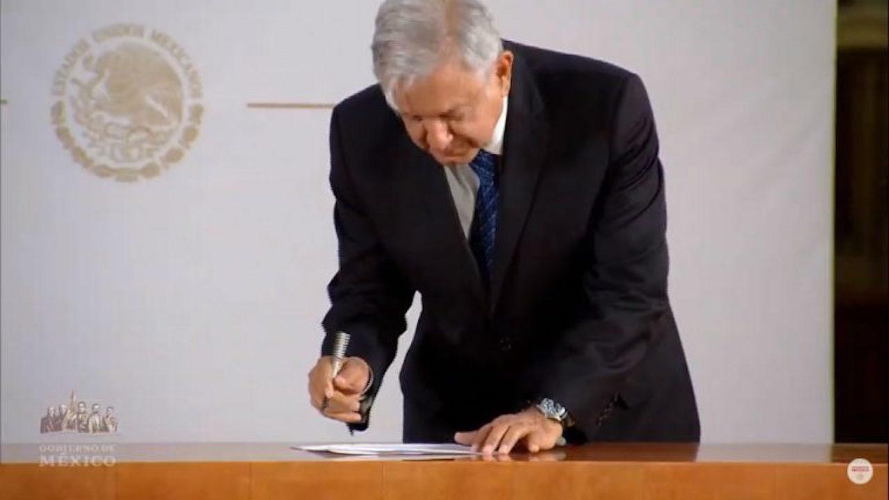 Se pierde carta de no reelección de AMLO