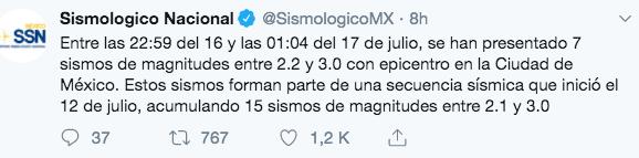 ¿Qué está pasando con los sismos de la CDMX?