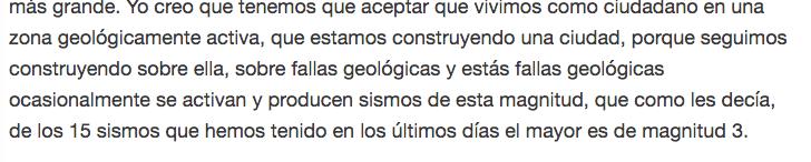 Los sismos los provocaron fallas geológicas