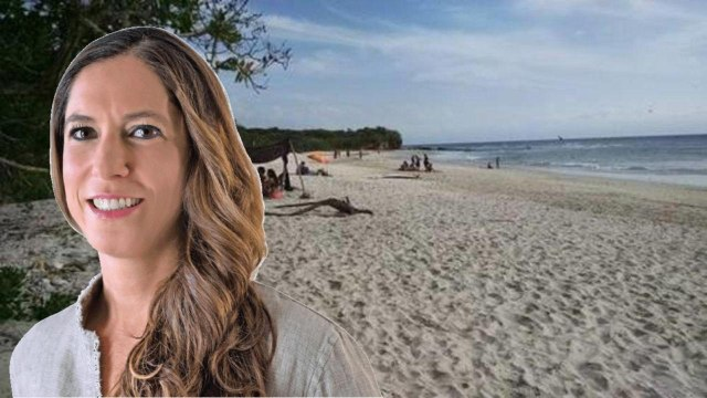 Mariana Boy privatiza playa en Nayarit