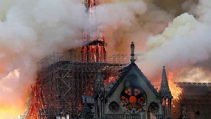 Ni un euro de las donaciones prometidas para Notre Dame