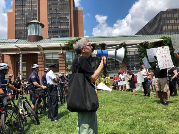 Judíos estadounidenses protestan contra centros migratorios