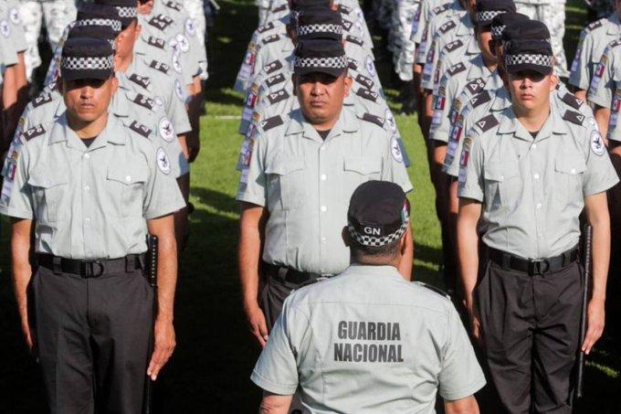 Operativo contra venta de uniformes pirata de la guardia nacional