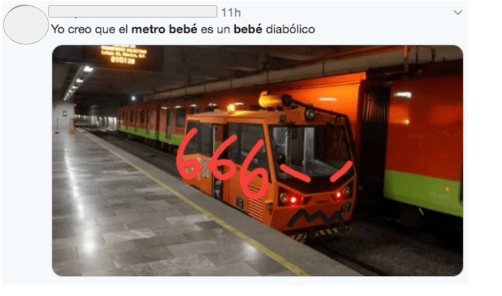 Este es el metro bebé y esto es lo que hace